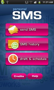 Personal SMS- screenshot thumbnail