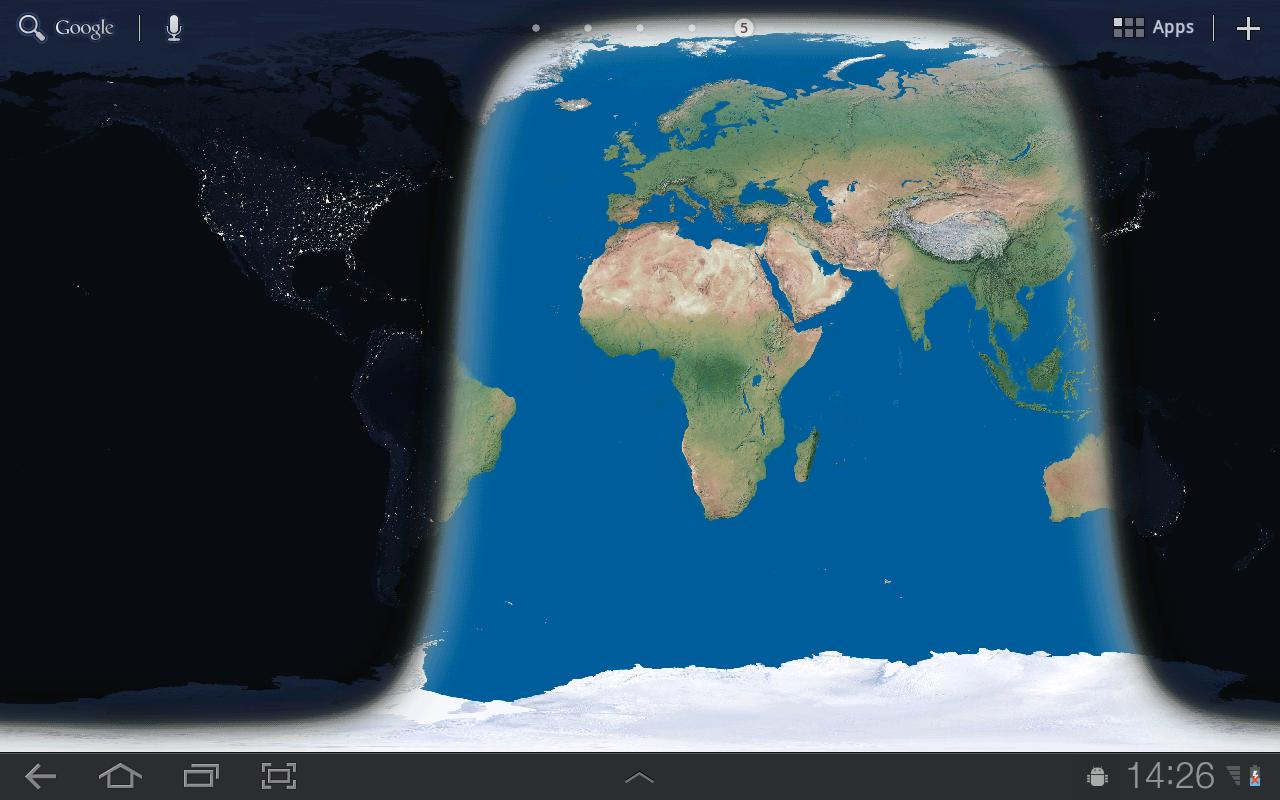 Earth wallpaper android apps on google play earth wallpaper screenshot gumiabroncs Choice Image