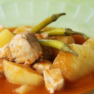 Bonito Fish Stew.