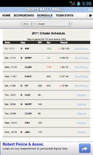 Citadel Football & Basketball - screenshot thumbnail