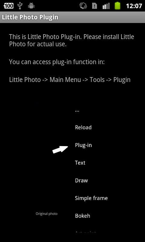 Little Photo Plugin - screenshot