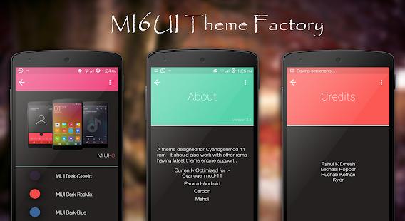 Download MIUI6 Dark CM11 - PA THEME Apk 3 0,com dxm miuidark