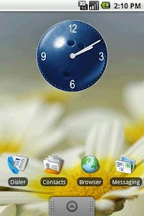 Bowling Ball Clock Widget 2x2 - screenshot thumbnail