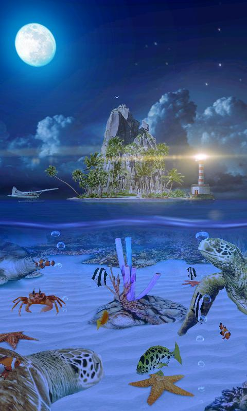 Ocean Aquarium 3D: Turtle Isle- screenshot