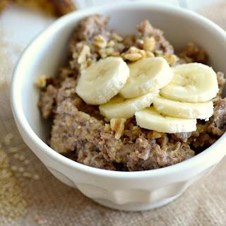 Crock Pot Banana Bread Quinoa.