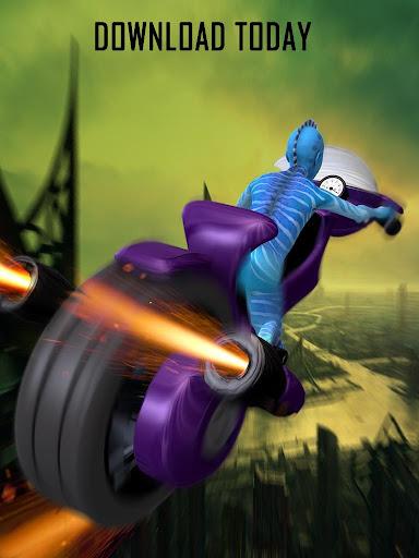 エイリアンスペースバイクレーシング|玩賽車遊戲App免費|玩APPs