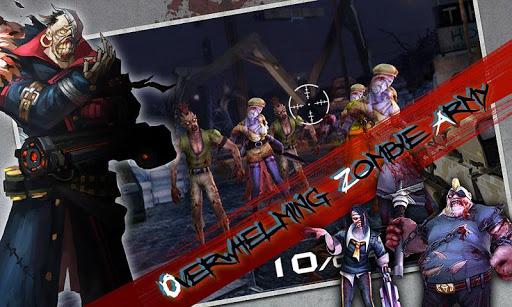 Игра Blood Zombies HD для планшетов на Android