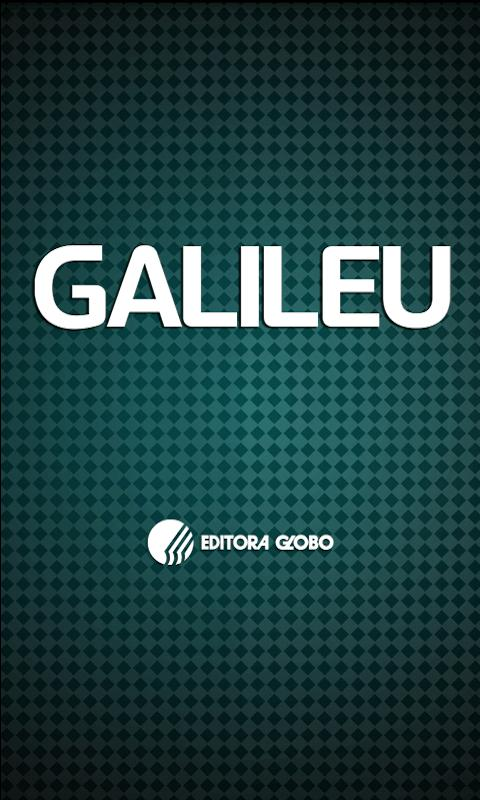 Galileu Mobile - screenshot