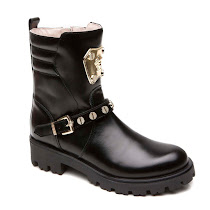 Versace Medusa Leather Boot BOOTS
