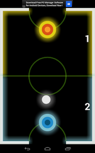 Air Hockey Glow- screenshot thumbnail