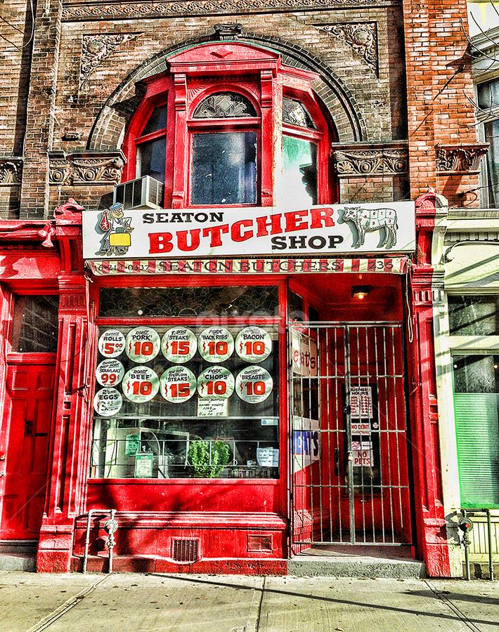 seaton butchers by Lennie L. - City,  Street & Park  Markets & Shops (  )