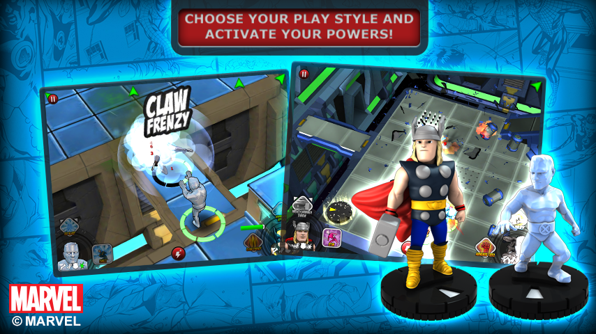 HeroClix TabApp Elite - screenshot