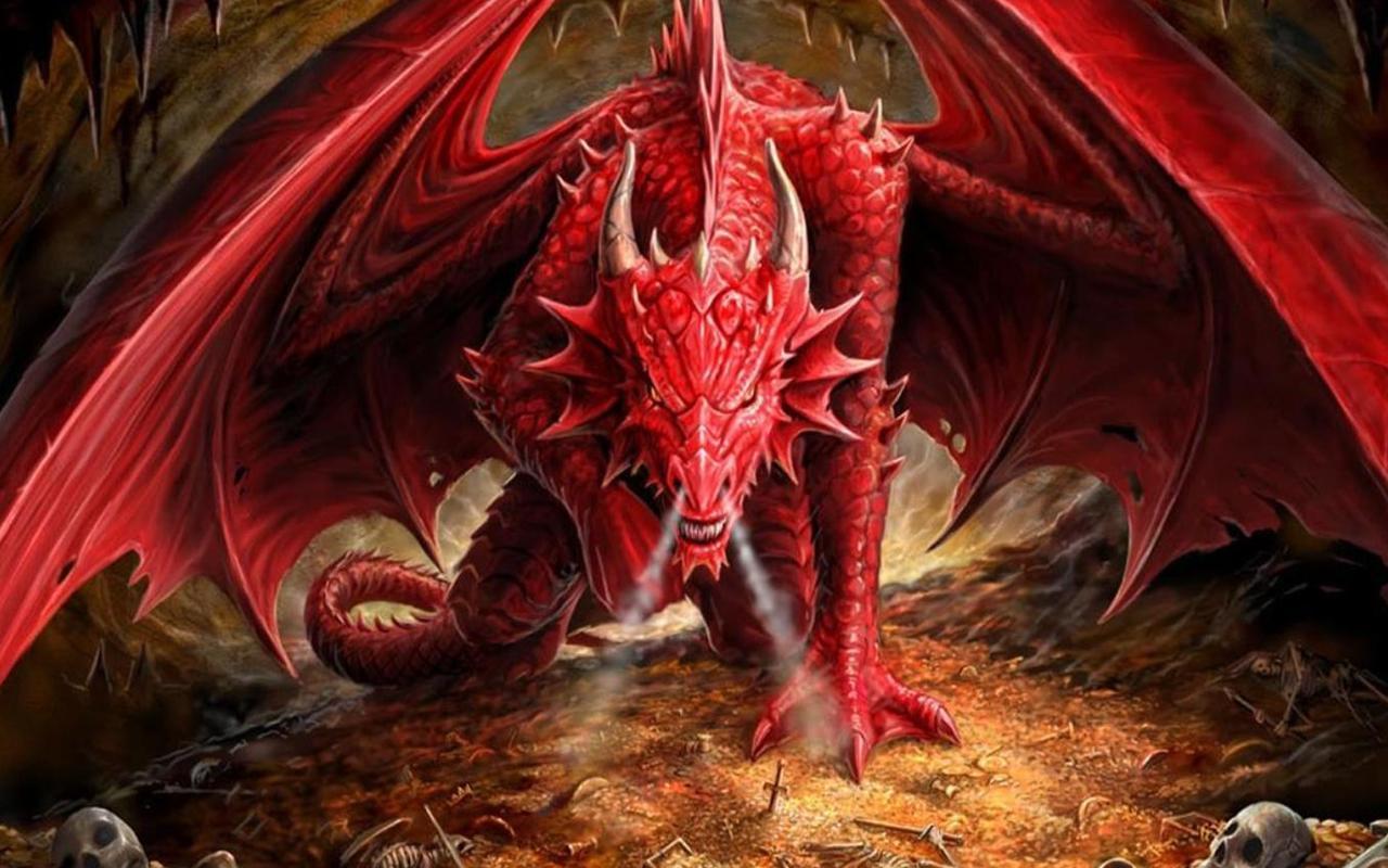 wallpaper dragon jackals waiting - photo #23