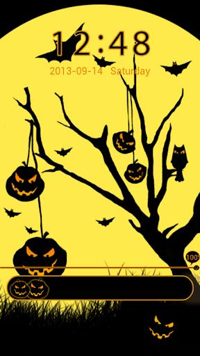 GO Locker Theme Halloween