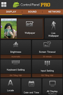 Control Panel PRO - screenshot thumbnail