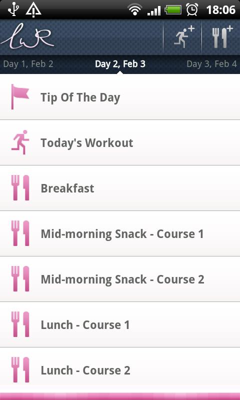 LWR Personal Trainer Lite - screenshot