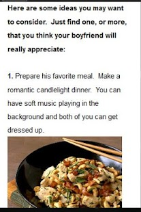 10 Romantic Boyfriend Tips - screenshot thumbnail