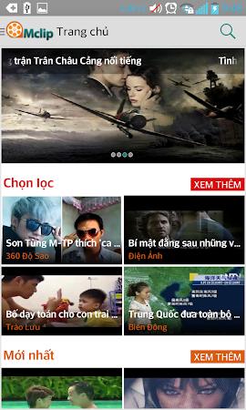 Mclip – Xem, tải Video Viettel 2.3 screenshot 334454