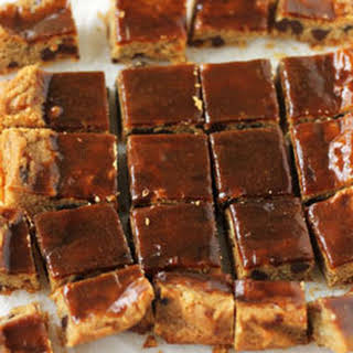 Caramel Blondies.