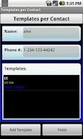 Screenshot of Sent (SMS)