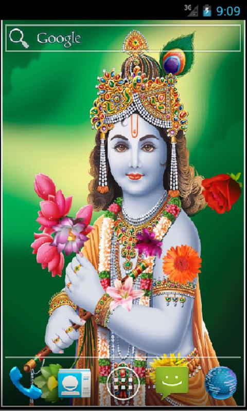 Shree Krishna Live Wallpaper- screenshot