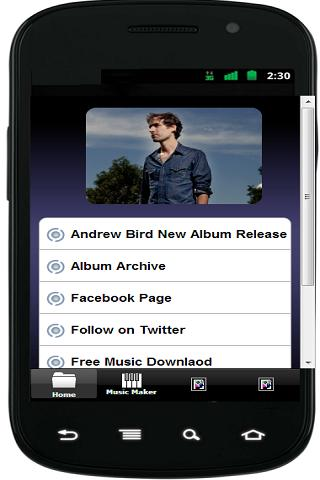 【免費娛樂App】Andrew Bird Released-APP點子