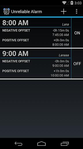 Unreliable Alarm