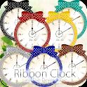 ドットリボン目覚まし時計ウィジェット7カラーパック icon