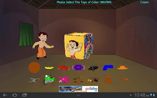 Screenshot of Toy Game with Chhota Bheem