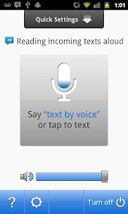 Sonalight Text by Voice - screenshot thumbnail