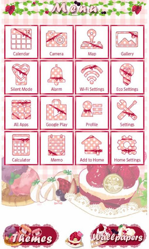 Sweet Theme Strawberry Picnic for PC