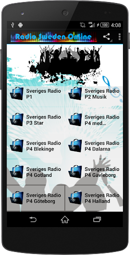 SWEDEN Music Radio Stations