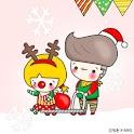 청춘 크리스마스 카카오톡 테마 icon