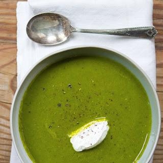 Kale & Apple Soup.