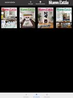 Screenshot of NUEVO ESTILO Revista