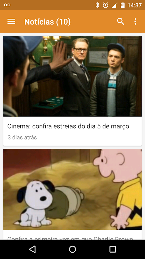 Café com Filme- screenshot
