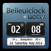 Belle ui clock full