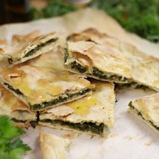 Croatian Soparnik (kale Pie).