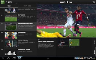 Screenshot of CANAL FOOTBALL APP
