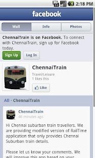Chennai Suburban trains - screenshot thumbnail