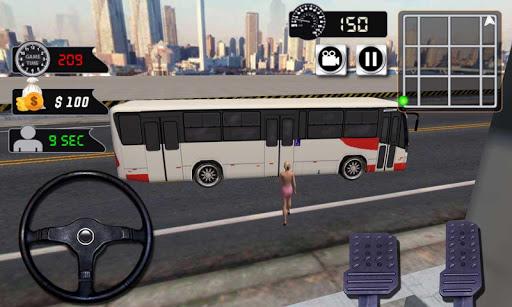 现代公交车司机3D