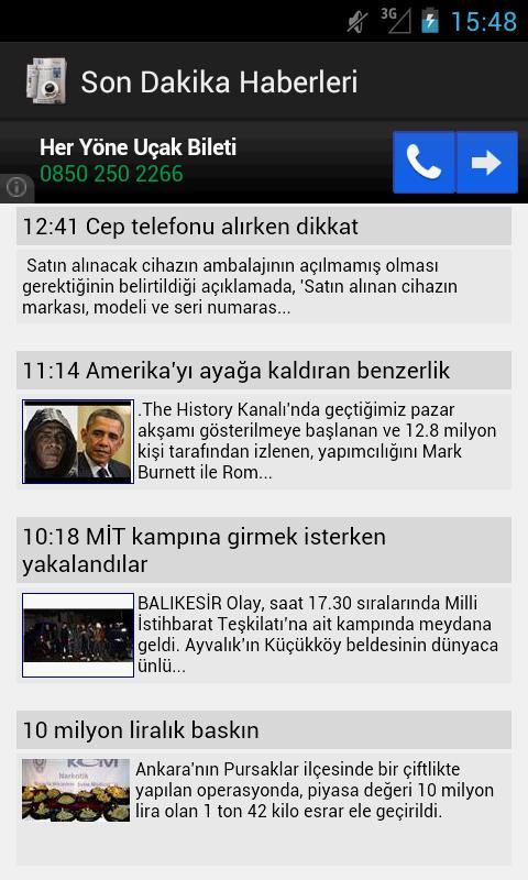 Son Dakika  Haberleri - screenshot