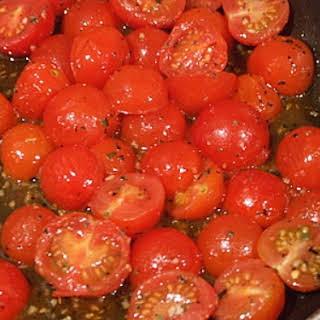 Sauteed Cherry Tomatoes.