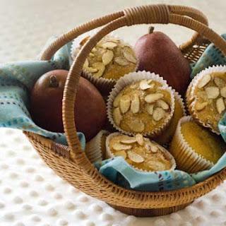 Gluten Free Healthy Pear Muffins.
