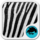 GO Keyboard Zebra Print Theme