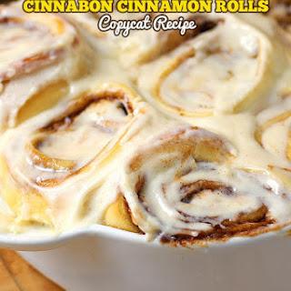Cinnabon Cinnamon Rolls Copycat