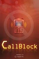 Screenshot of CallBlock
