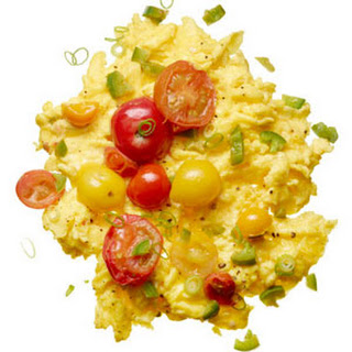 Scrambled Eggs with Chilies.