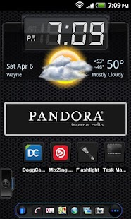 TSF Shell Theme Black On Black- screenshot thumbnail