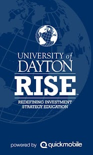 University of Dayton RISE - screenshot thumbnail